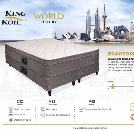 Colchon King Koil Bradford