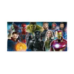 Toallon Microfibra Avengers