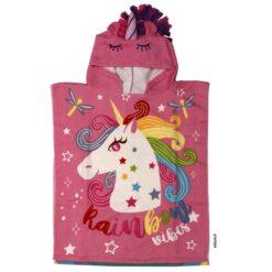 Poncho Piñata 3d unicornios 02